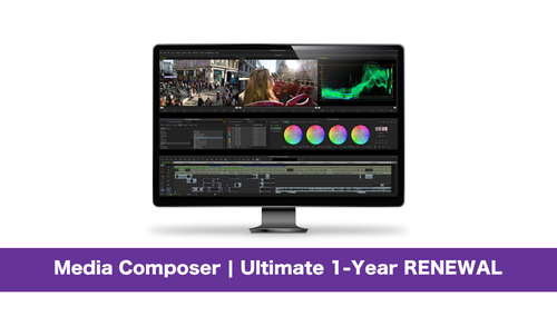Avid Media Composer | Ultimate 1-Year RENEWAL