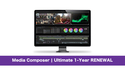 Avid Media Composer | Ultimate 1-Year RENEWAL の通販