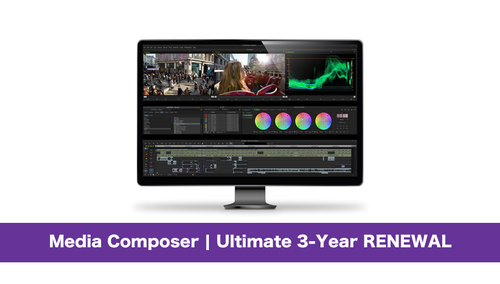 Avid Media Composer | Ultimate 3-Year RENEWAL