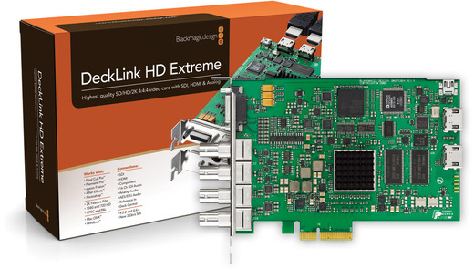 Blackmagic Design DeckLink HD Extreme (3Gb/s SDI + DualLink HD-SDI)