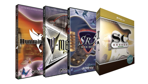 Prominy Hummingbird & V-METAL & SR5 Rock Bass 2 & SC コンプリートバンドル