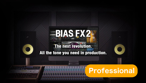 Positive Grid BIAS FX 2.0 Professional ★September Software Promotion!9月30日まで