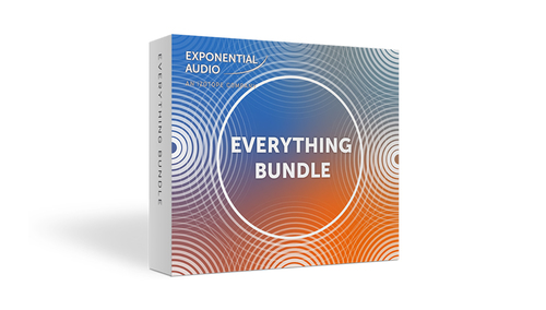 Exponential Audio Exponential Audio Everything Bundle ★増税前FINAL SALE!!