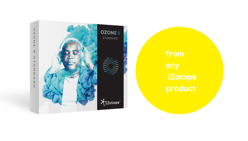 iZotope Ozone 8 STD crossgrade from any iZotope product ★在庫限り特価!