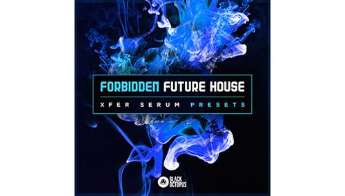 BLACK OCTOPUS FORBIDDEN FUTURE HOUSE