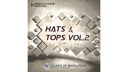 SOUNDS OF REVOLUTION SOR HATS+TOPS VOL.2