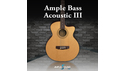 AMPLE SOUND AMPLE BASS ACOUSTIC III AMPLE SOUND サマーセール!20%OFF!の通販