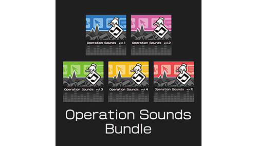 ポケット効果音 OPERATION SOUNDS BUNDLE ポケット効果音OPERATION SOUNDS BUNDLE 40%OFF!
