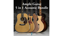 AMPLE SOUND AMPLE GUITAR 5 IN 1 ACOUSTIC BUNDLE AMPLE SOUND サマーセール!20%OFF!の通販