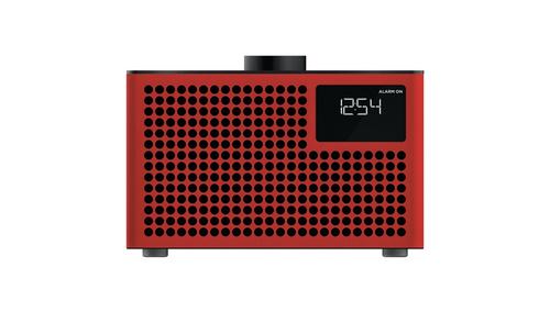 GENEVA Acustica Lounge Radio Red