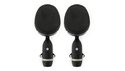 Coles Electroacoustics Microphones 4038 Stereo Set の通販