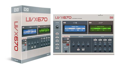 UVI UVX670 ★在庫限り特価!