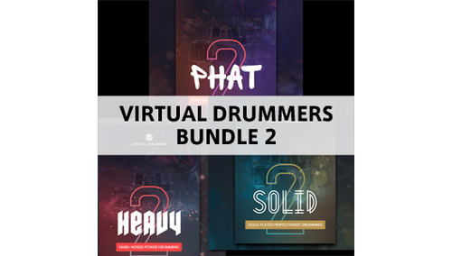 UJAM VIRTUAL DRUMMERS BUNDLE 2