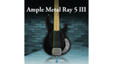 AMPLE SOUND AMPLE METAL RAY5 III AMPLE SOUND WINTER SALE!ギター/ベース音源全品20%OFF!の通販