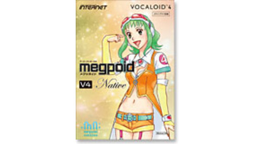 INTERNET VOCALOID4 Library Megpoid V4 Native