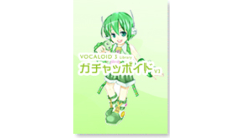 INTERNET VOCALOID3 Library ガチャッポイド V3 BLACKFRIDAYキャンペーン