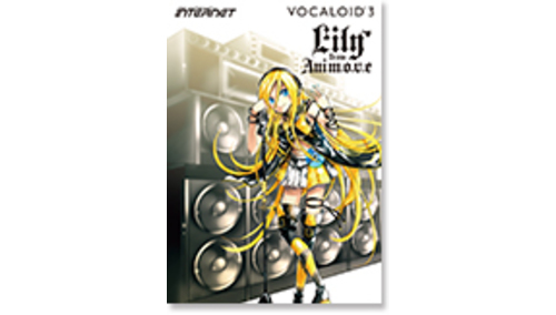INTERNET VOCALOID3 Library Lily