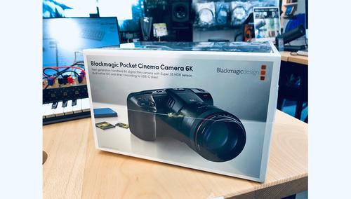 Blackmagic Design Blackmagic Pocket Cinema Camera 6K 箱つぶれ品