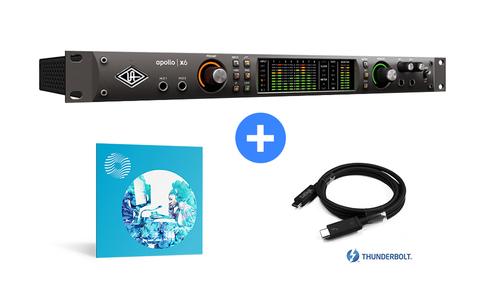 Universal Audio APOLLO x6 ★今ならUAD-2 Satelliteがもらえる!さらにThunderbolt 3ケーブルとOzone 9 Standardをプレゼント!