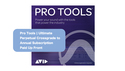 Avid Pro Tools | Ultimate Perpetual Crossgrade to Annual Subscription Paid Up Front の通販