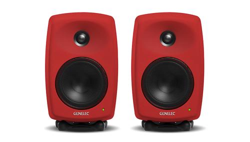 GENELEC G Three Red (1Pair) ★特別カラー限定数量モデル!