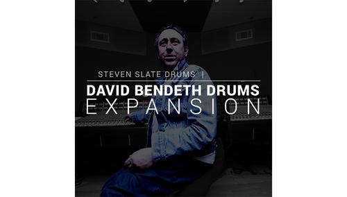 Steven Slate Drums David Bendeth Drums EXPANSION for SSD5
