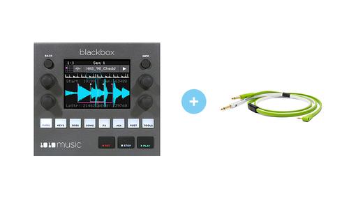 1010MUSIC Blackbox - Compact Sampling Studio ★ケーブルプレゼント!