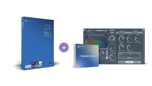 iZotope RX Elements (v7) + PhoenixVerb ★在庫限り特価!