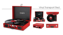 ION AUDIO Vinyl Transport Red の通販