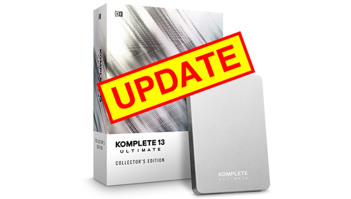 Native Instruments KOMPLETE 13 ULTIMATE Collector's Edition UPD ★数量限定!iZotope&Exponential Audioプラグインプレゼント!