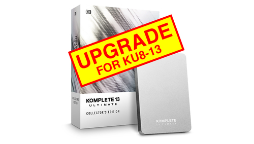 Native Instruments KOMPLETE 13 ULTIMATE Collector's Edition UPG FOR KU8-13 ★数量限定!iZotope&Exponential Audioプラグインプレゼント!