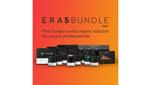 ACCUSONUS ERA 5 BUNDLE PRO Accusonus Black Friday Sale!全製品対象、最大89%OFF!