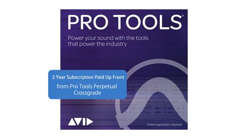 Avid Pro Tools サブスクリプションライセンス(永続→サブスクリション2年へのクロスグレード) (DL納品)