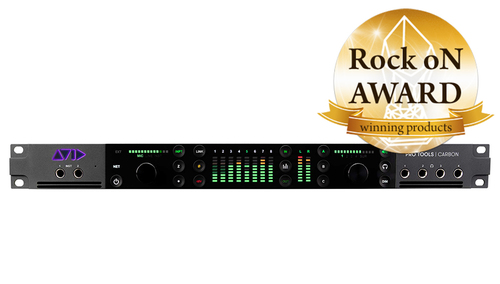Avid Pro Tools   Carbon Hybrid Audio Production System ★Rock oN AWARD2021受賞記念!Acoustic Revive LANケーブルプレゼント!