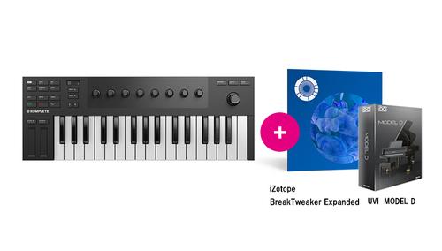 Native Instruments KOMPLETE KONTROL M32 ★RockoN限定 iZotope Break Tweaker Expanded +UVIピアノ音源もプレゼント!