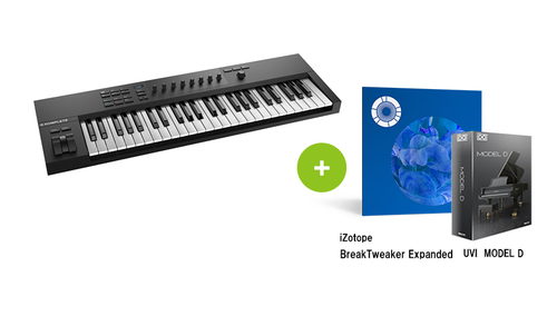 Native Instruments KOMPLETE KONTROL A49 ★Rock oN GO TO NEXT クーポン配布中!★RockoN限定 iZotope Break Tweaker Expanded +UVIピアノ音源もプレゼント!