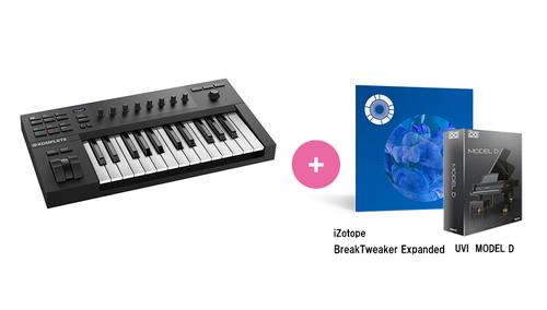 Native Instruments KOMPLETE KONTROL A25 ★RockoN限定 iZotope Break Tweaker Expanded +UVIピアノ音源もプレゼント!