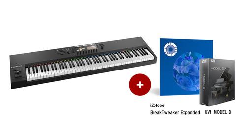 Native Instruments KOMPLETE KONTROL S88 MK2 ★RockoN限定 iZotope Break Tweaker Expanded +UVIピアノ音源もプレゼント!