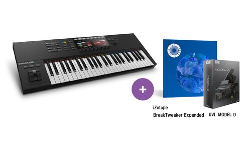 Native Instruments KOMPLETE KONTROL S49 MK2 ★RockoN限定 iZotope Break Tweaker Expanded +UVIピアノ音源もプレゼント!