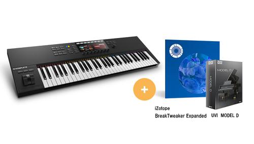 Native Instruments KOMPLETE KONTROL S61 MK2 ★RockoN限定 iZotope Break Tweaker Expanded +UVIピアノ音源もプレゼント!
