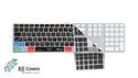KB COVERS for Logic Pro/Express Apple Ultra-Thin Aluminium keyboard US配列(クリア地)(LOG-AK-CC) の通販