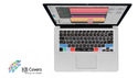 KB COVERS for Logic Pro/ExpressApple MacBook / MacBook Pro / MacBook Air US配列(クリア地)(LOG-M-CC) の通販