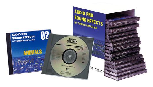 Sound Ideas AUDIO PRO SOUND EFFECTS