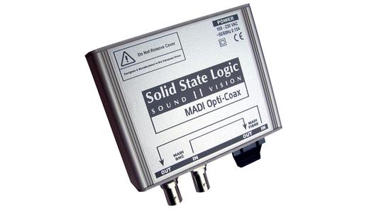 SSL MADI Opti-Coax