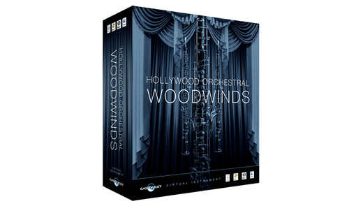 East West Hollywood Orchestral Woodwinds Diamond Mac (EW205M)