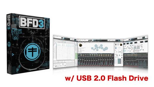 Fxpansion BFD3 w/ USB 2.0 Flash Drive ★最大54%オフ!FXpansion BFD3 & BFD Expansions Black Friday Sale 2017