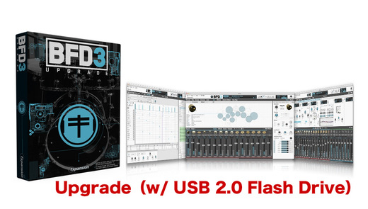 Fxpansion BFD3 Upgrade from BFD2 w/ USB 2.0 Flash Drive