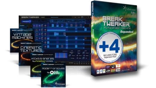 iZotope BREAKTWEAKER EXPANDED ★在庫限り特価!
