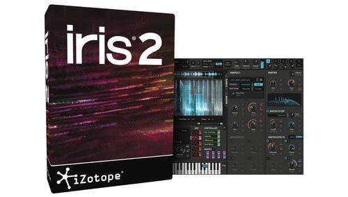 iZotope iris2 ダウンロード版
