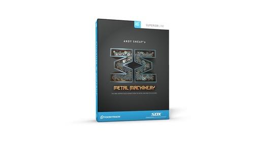 TOONTRACK SDX METAL MACHINERY